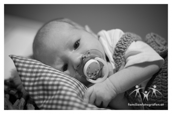 Newborn Shooting mit Niklas