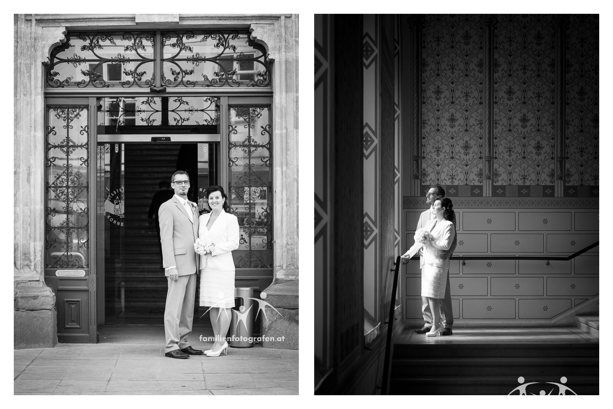 Hochzeitsfotos am Standesamt Korneuburg