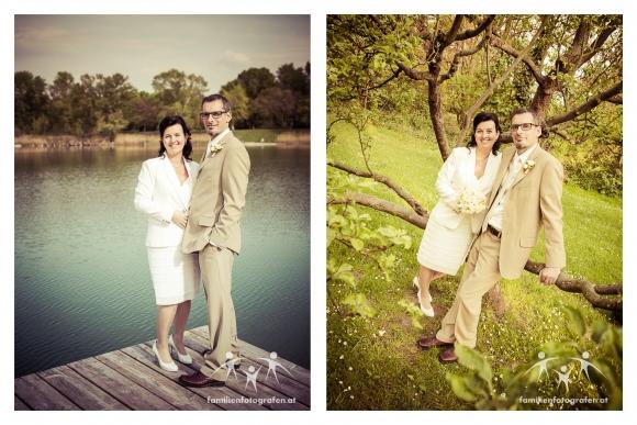 Paarfotos in freier Natur