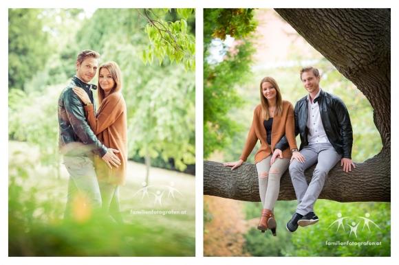 Herbstliche Familienfotos Wien