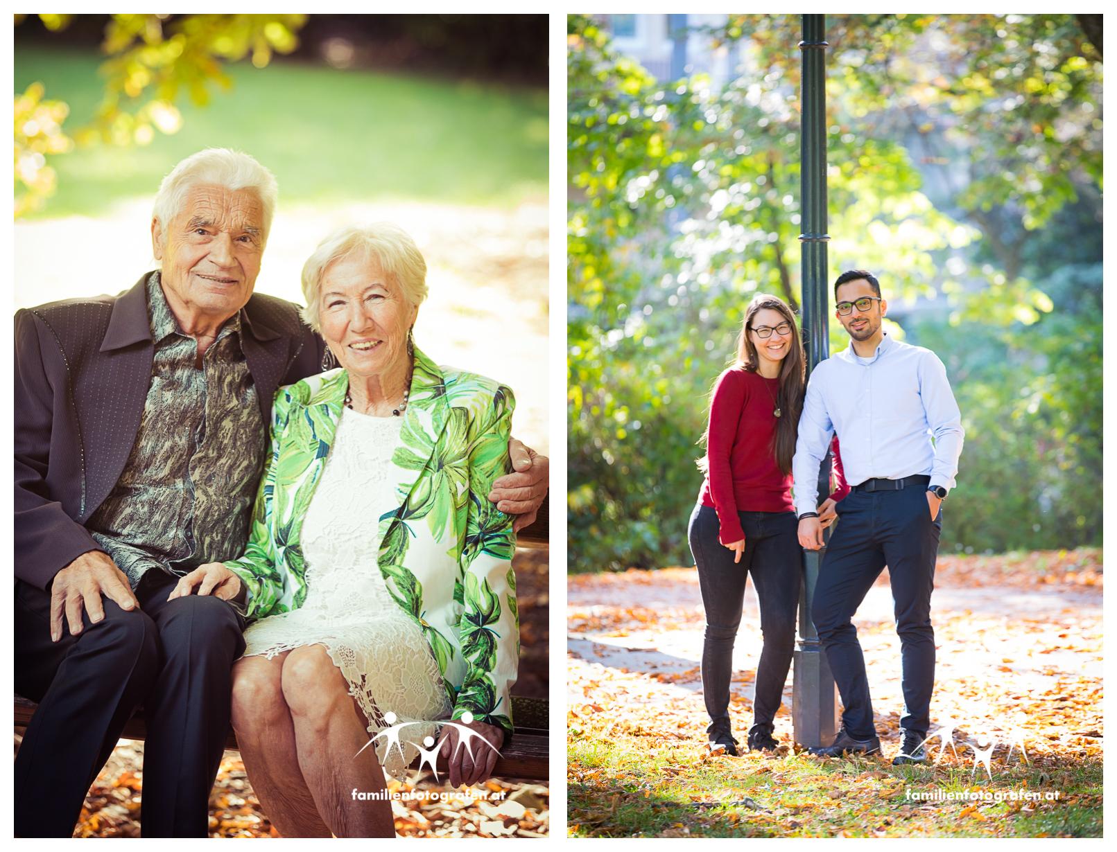 Familienfotos als Geschenk zum Hochzeitstag
