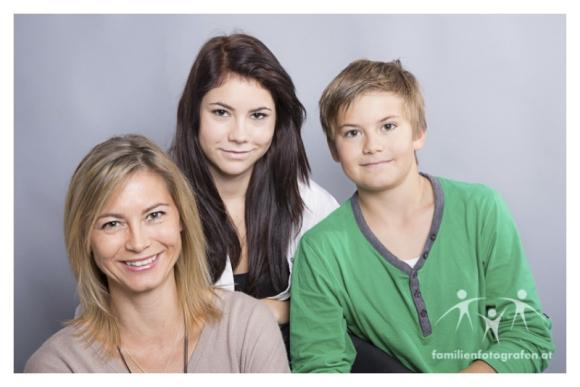 Carola Weber mit Familie