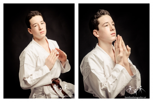 Studiofoto Karate