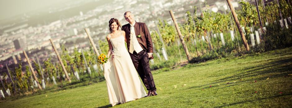 Hochzeitsfotograf für Hochzeit am Cobenzl