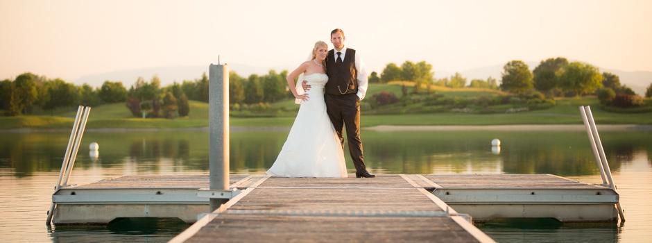 Hochzeit im Golfclub Fontana Oberwaltersdorf