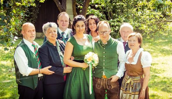 Hochzeitsfotos vom Fotografen im Standesamt Korneuburg